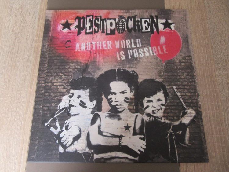 Pestpocken - Another World Is Possible col. Vinyl-LP 1