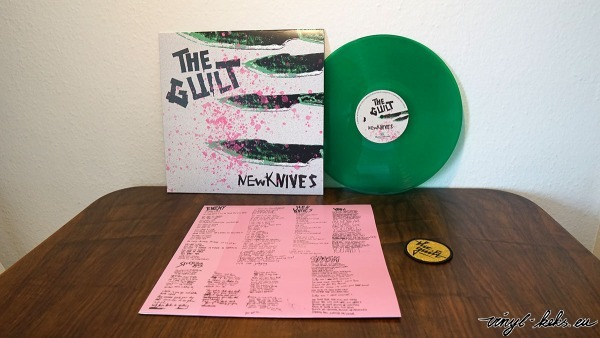 The Guilt - New Knives col. Vinyl-LP 1