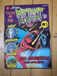 Mutant Reavers - Monster Punk Vinyl LP 2