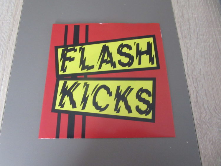 Flash Kicks - s.t. 7inch Vinyl-Single 1