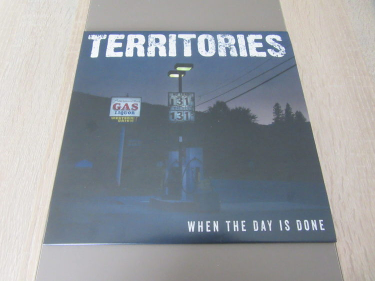 Territories - When the Day is done 10inch-Vinyl-LP 1