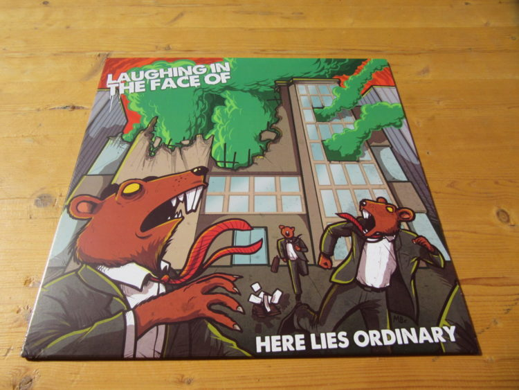 Laughing in the Face of - Here lies the ordinary col. Vinyl-LP 1