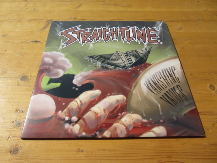 Straightline - Vanishing Values col. Vinyl-LP 1