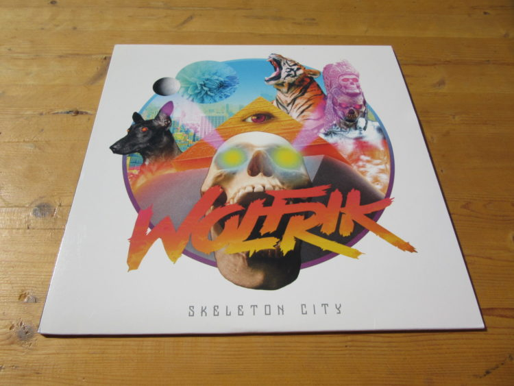 Wolfrik - Skeleton City col. 12inch-EP 1