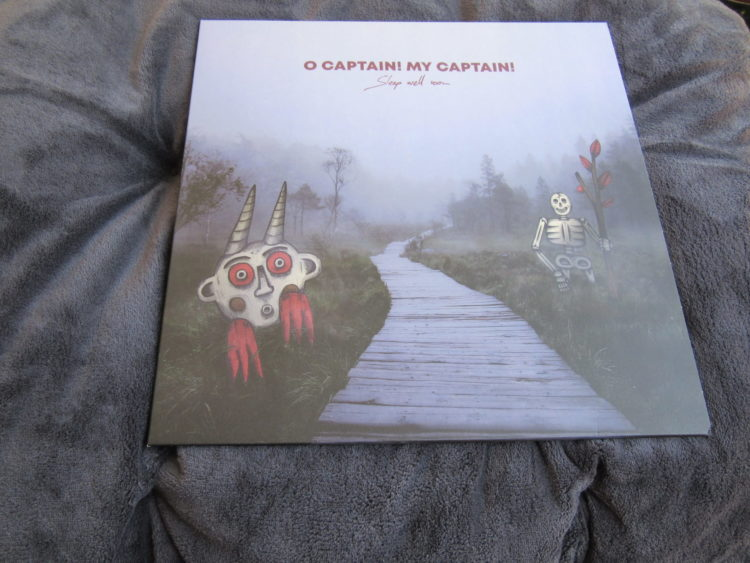 O Captain! My Captain! - Sleep well soon col. Vinyl-LP 1