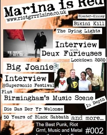 "Frauen im Musikbusiness - Stephanie (UK) vom ""Marina is Red"" Riot Grrrl & Punk Zine 5"