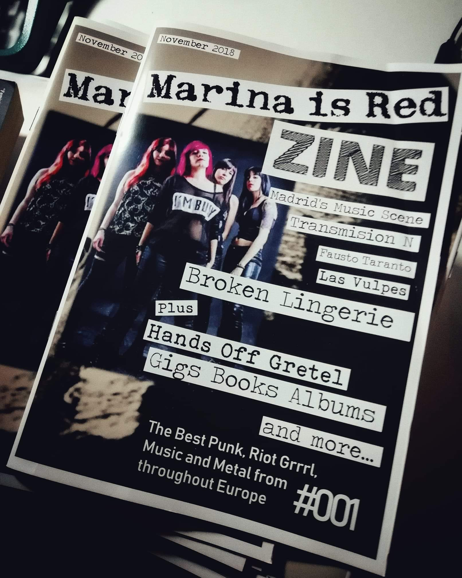 "Frauen im Musikbusiness - Stephanie (UK) vom ""Marina is Red"" Riot Grrrl & Punk Zine 2"