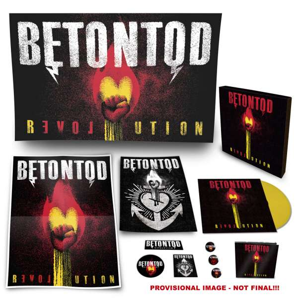 Empfehlung: Betontod - Revolution lim. Fan-Box-Set, Yellow Vinyl 1