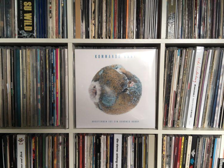 Kommando Kant - Aussterben Ist Ein Schönes Hobby col. Vinyl-LP 1