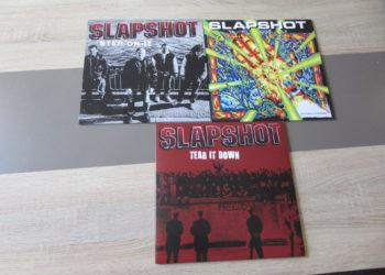 Slapshot - Tear it Down vs. Unconsiousness vs. Step on it col.Vinyl-LPs 5