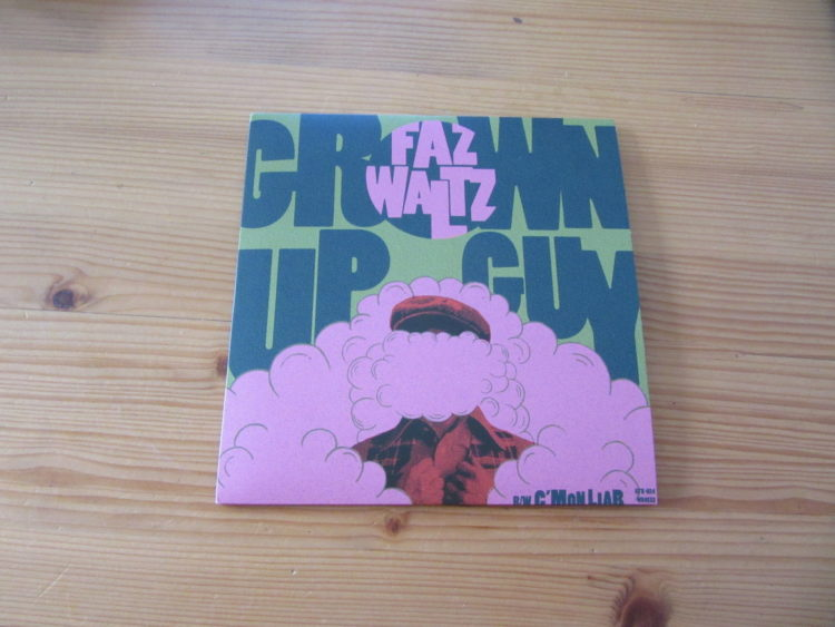Faz Waltz - Grown Up Guy/C´mon Liar col. Vinyl-Single 1