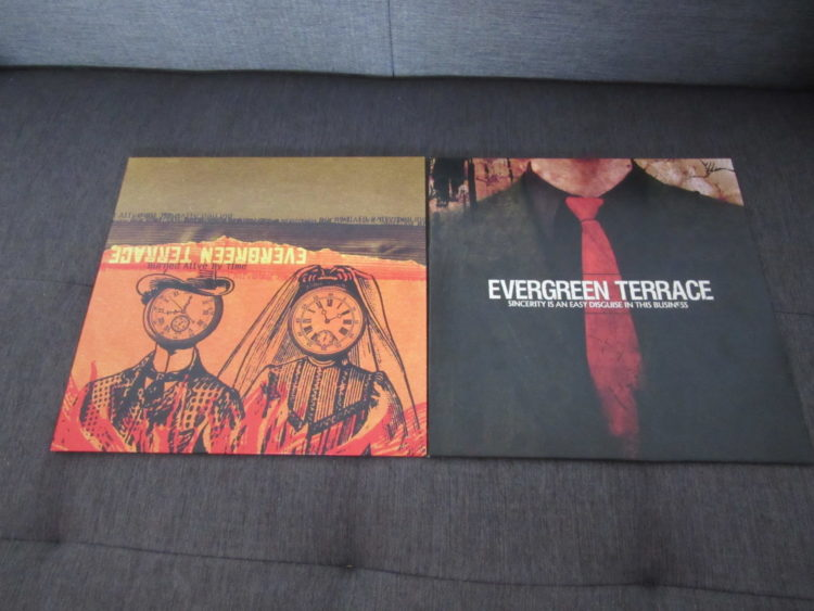 Evergreen Terrace - Burned alive by time vs. Sincerity is an easy disguise in this business col. Vinyl-LPs 1