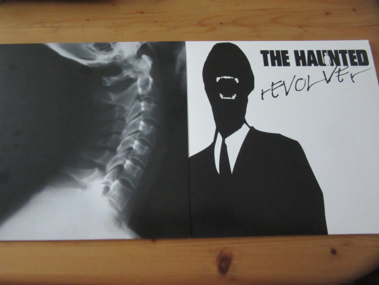 The Haunted - Revolver vs. The Dead Eye col. Vinyl-LPs 1