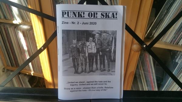 Punk! Oi! Ska! Fanzine #2 1