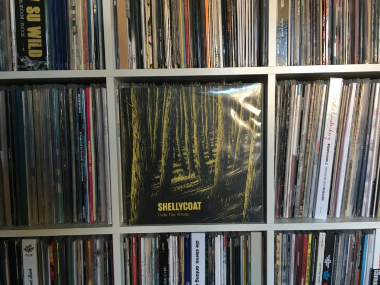 Shellycoat - Hide The Knives 12inch col. Vinyl-LP 1