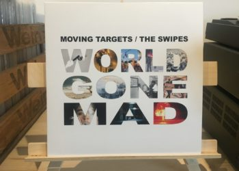 Moving Targets/The Swipes - World Gone Mad col. Split - 10inch - Vinyl - LP 3
