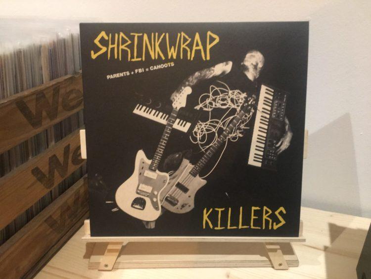 Shrinkwrap Killers - Parents + FBI = Cahoots 12inch-Vinyl-LP 1