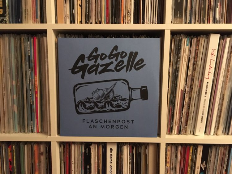 Go Go Gazelle - Flaschenpost am Morgen 12inch Vinyl-LP 1