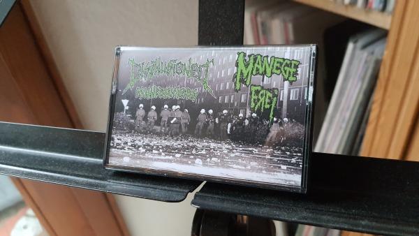Disillusioned Motherfuckers / Manege Frei - Split MC 1