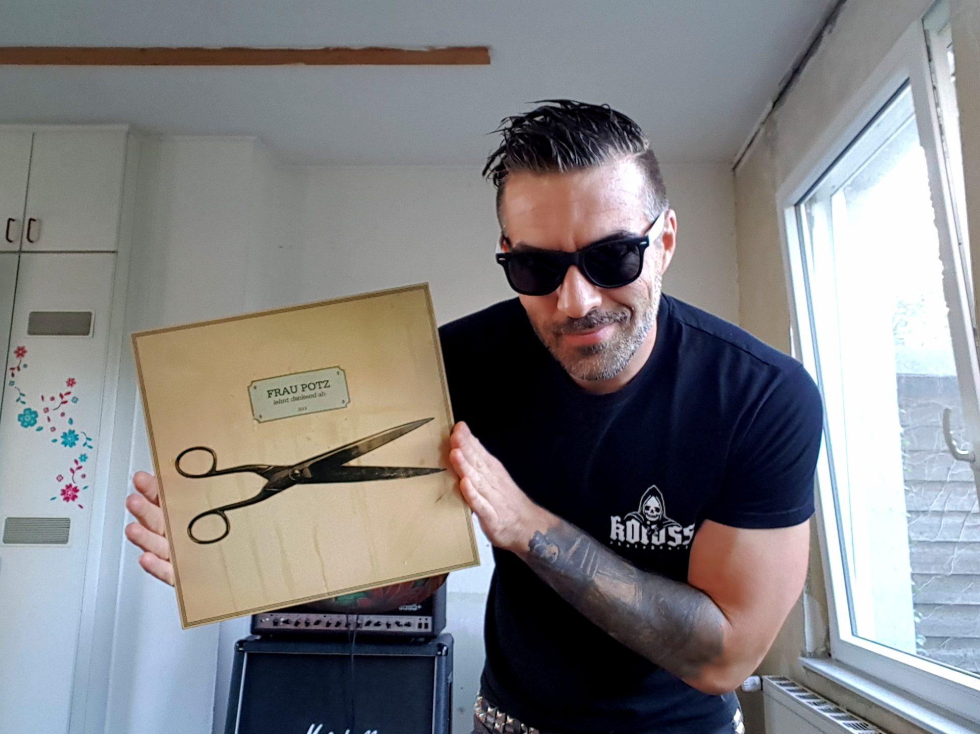 Vinylsünde - mit Gitarrist Alex von der Band Abriss + Raketenstudio 2