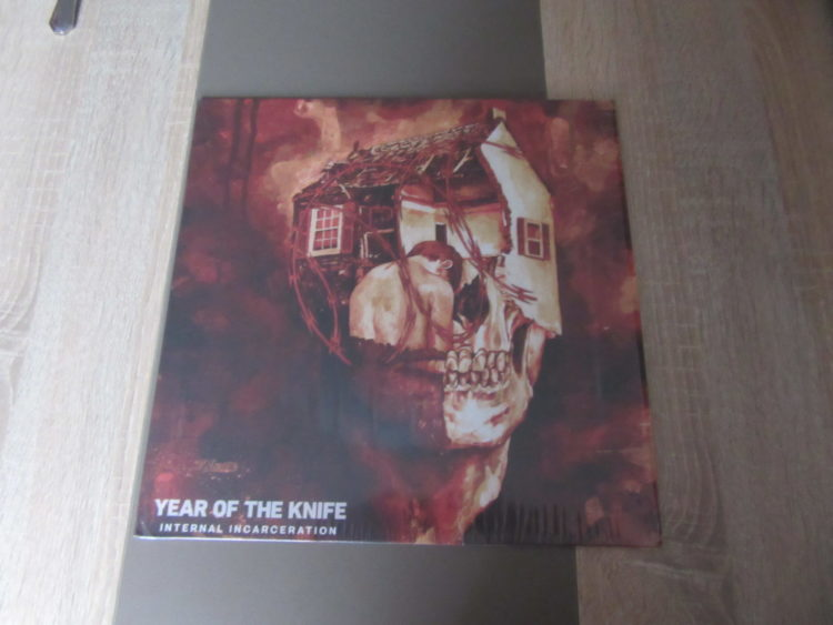Year Of The Knife - Internal Incarceration col. Vinyl-LP 1