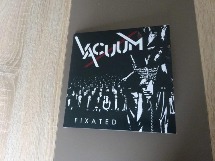 Vacuum - Fixated/Wrapped in Plastic Vinyl-Single 1