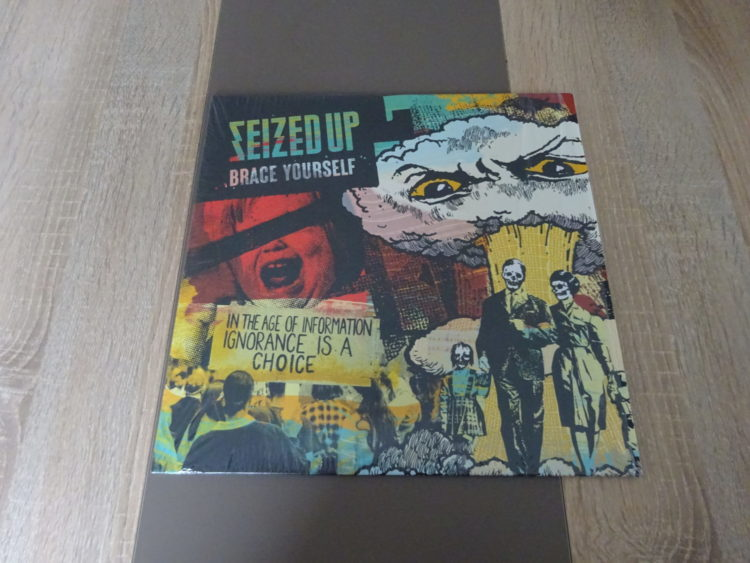 Seized Up - Brace Yourself Vinyl-LP 1