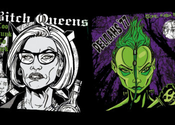 Bitch Queens/Delilahs'77 Split