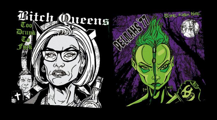 Bitch Queens/Delilahs'77 Split
