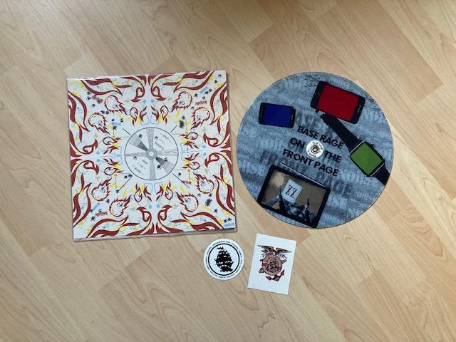 Noi!se - Base Rage on the Front Page pict. Maxi-Vinyl-LP 1