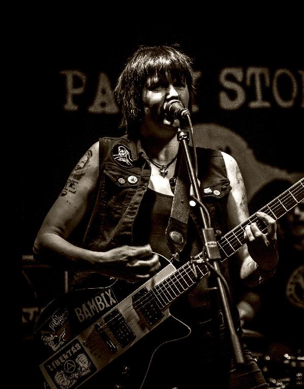Frauen im Musikbusiness - Patsy von PATSY STONE und CUT MY SKIN 3