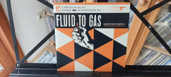 Fluid to Gas - Handle with care Vinyl-Single 1