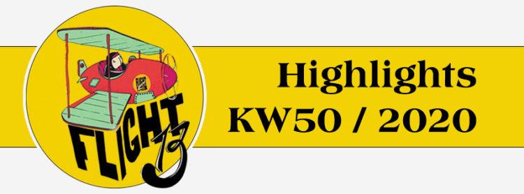 Flight13 Highlights KW50 / 2020 1