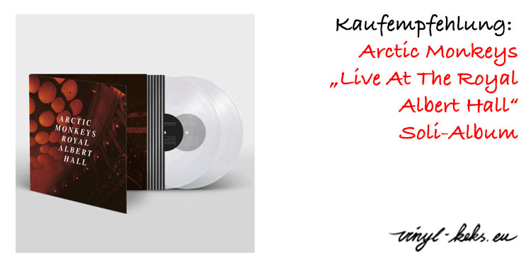 Empfehlung: Arctic Monkeys Live At The Royal Albert Hall 1