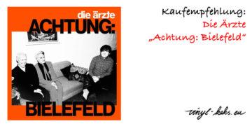 Empfehlung: Die Ärzte - Achtung: Bielefeld 18