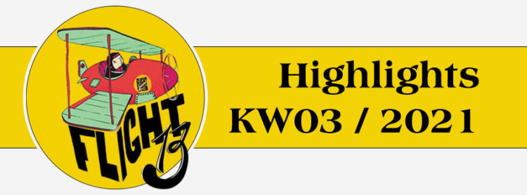 Flight13 Highlights KW03 / 2021 1
