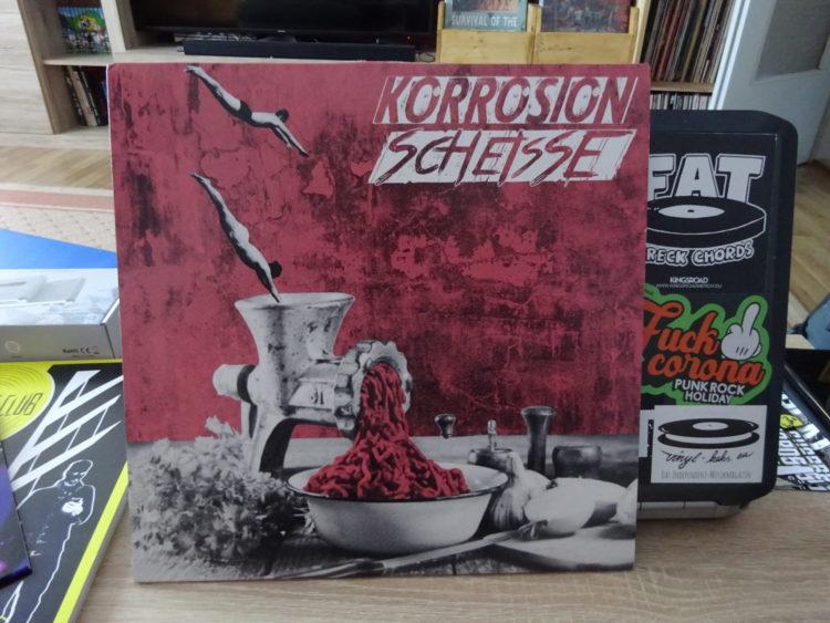 Korrosion / Scheisse - Split-LP 1
