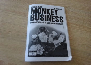Monkey Business Fußballfanzine NR. 25 2