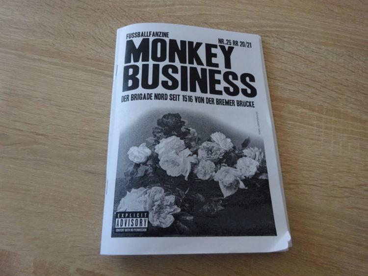 Monkey Business Fußballfanzine NR. 25 1