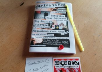 Marina is Red #2 Fanzine 1
