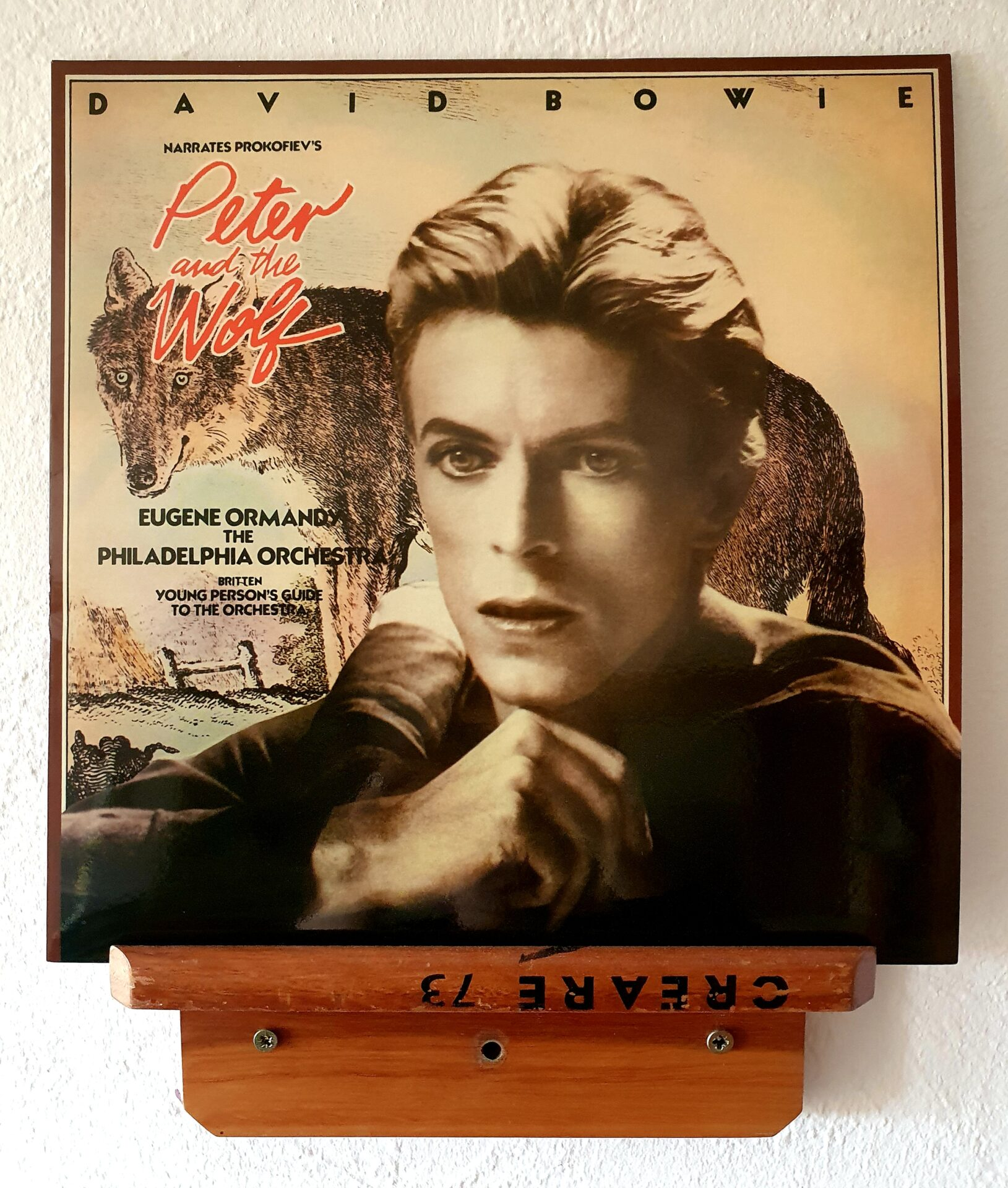 David Bowie narrates Prokofiev's Peter and the Wolf