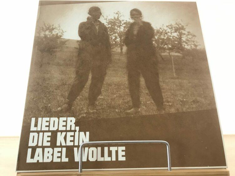 Various – Lieder, Die Kein Label Wollte 1