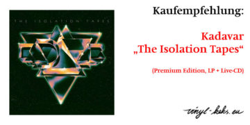 Empfehlung: Kadavar The Isolation Tapes (Premium Edition) 13