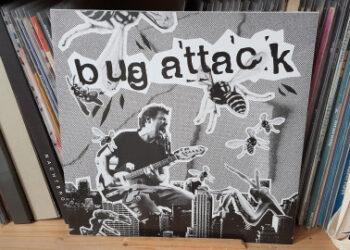Bug Attack / Brennender Asphalt - don't go back on the same old Track Split LP 11