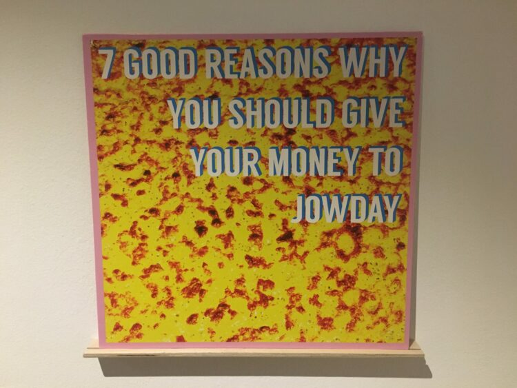 Jowday - Seven Good Reasons Why You Should Give Your Money To Jowday 1