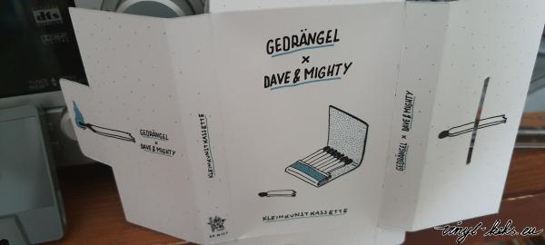 Gedrängel x Dave & Mighty - Kleinkunstkassette 1