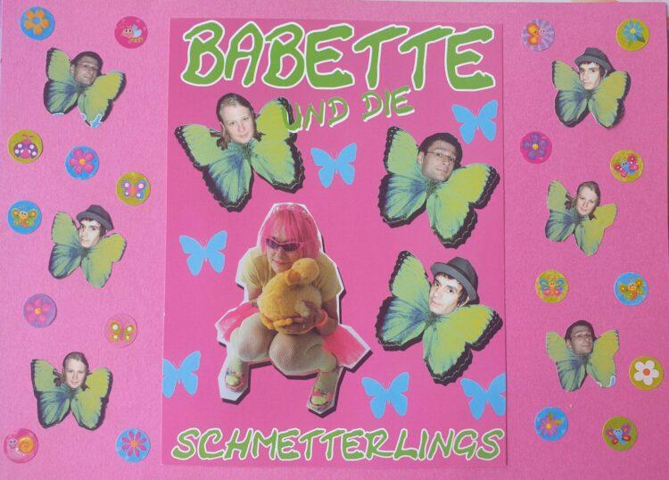 Copyright: Babette und die Schmetterlings