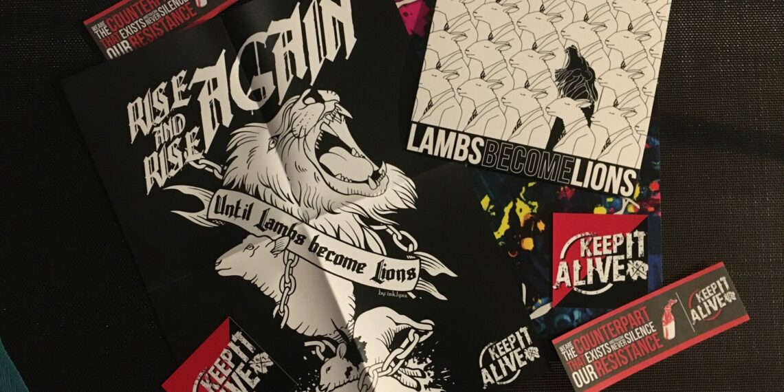 Keep It Alive - Lambs Become Lions 1